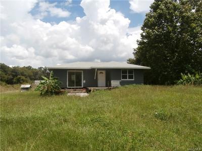 Citrus County Single Family Home For Sale: 4561 E Dartmouth Lane