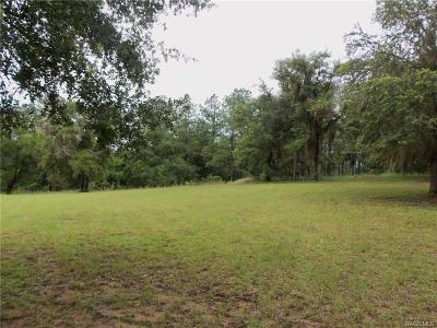 Dunnellon Residential Lots & Land For Sale: 11701 N Basin Cove Point