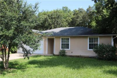 Inverness Single Family Home For Sale: 3493 E Odier Street