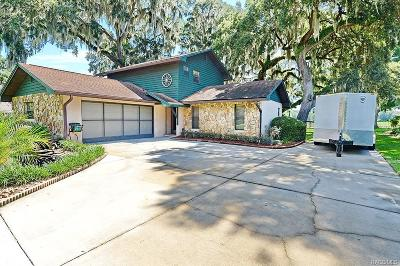 Inverness Single Family Home For Sale: 1431 S Tranquil Point