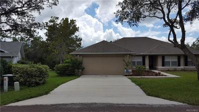 Homosassa, Dunnellon Single Family Home For Sale: 14 Witch Hazel Court