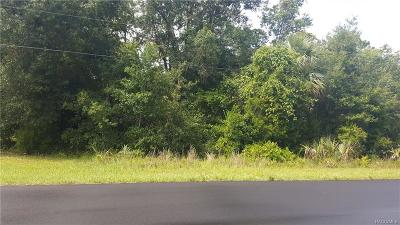 Crystal River Residential Lots & Land For Sale: 6814 W Avocado Street