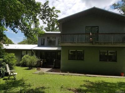 Homosassa Multi Family Home For Sale: 2083 Melanie Drive