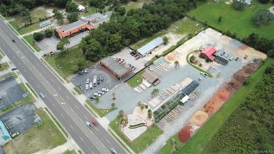 Citrus County Commercial For Sale: 6658 & 6654 W Gulf To Lake Highway