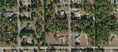 Floral City Residential Lots & Land For Sale: 12332 S Hyacinth Point