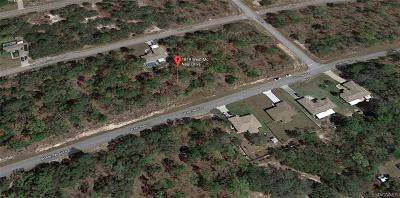 Citrus Springs Residential Lots & Land For Sale: 1819 W McNeal Drive