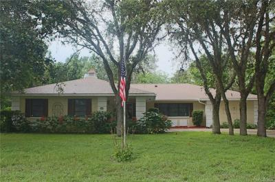 Homosassa Single Family Home For Sale: 6 Salvia Court W
