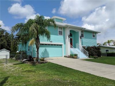 Crystal River Single Family Home For Sale: 3876 N Eagle Point