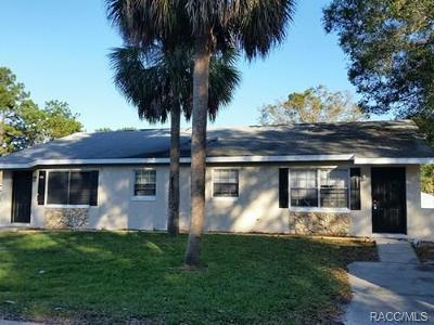 Citrus County Rental For Rent: 473 N Elmwood Point