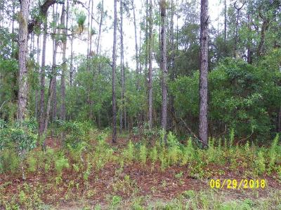 Hernando Residential Lots & Land For Sale: 4118 N Mayan Drive