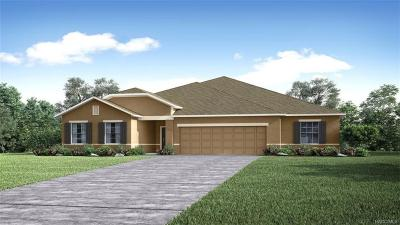 Homosassa Single Family Home For Sale: 23 Lupine