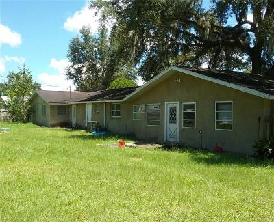 Citrus County Single Family Home For Sale: 7741 E Spanish Trail