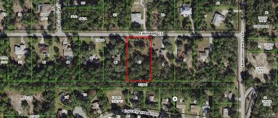 Hernando Residential Lots & Land For Sale: 1324 E Bluebird Court