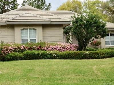 Citrus County Single Family Home For Sale: 3196 N Barton Creek Circle