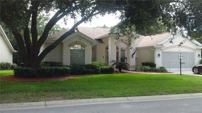 Crystal River Single Family Home For Sale: 1630 N Marlborough Loop