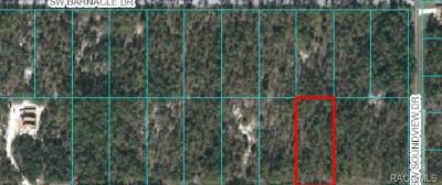 Dunnellon Residential Lots & Land For Sale: 00 SW Nautilus Boulevard