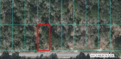 Dunnellon Residential Lots & Land For Sale: 00 SW SW Sailboat Drive