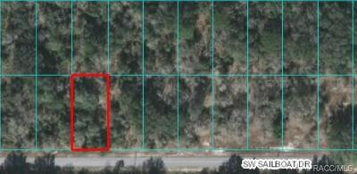 Dunnellon Residential Lots & Land For Sale: 00 SW Sailboat Drive