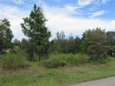 Inverness Residential Lots & Land For Sale: 1007 N Lafayette Way