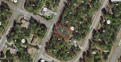 Citrus Springs Residential Lots & Land For Sale: 5749 N Claremont Drive