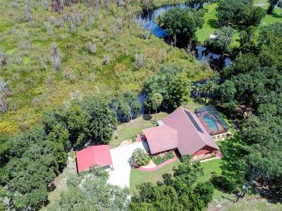 Inverness Single Family Home For Sale: 1471 Lagoon Point