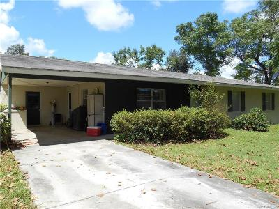 Lecanto FL Single Family Home For Sale: $228,500