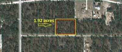 Dunnellon Residential Lots & Land For Sale: 0000 SW 90th Place