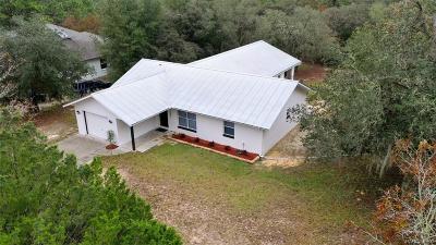 Hernando Single Family Home For Sale: 1656 E Bismark Street