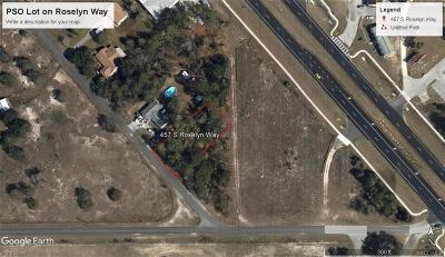 Residential Lots & Land For Sale: 457 S Roselyn Way