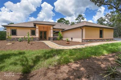 Pine Ridge Single Family Home For Sale: 2692 N Sheriff Drive