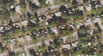 Inverness FL Residential Lots & Land For Sale: $10,000