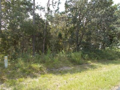 Hernando Residential Lots & Land For Sale: 1139 N Chance Way