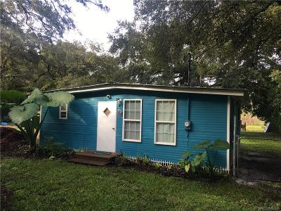 Floral City FL Mobile Home For Sale: $84,900