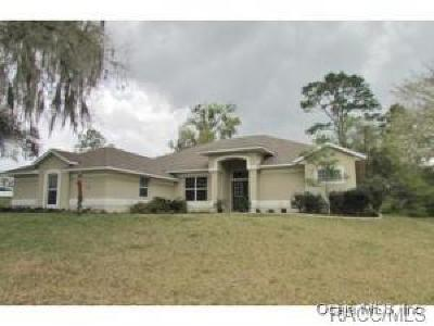 Dunnellon Single Family Home For Sale: 19680 SW 82 Loop