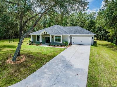Inverness Single Family Home For Sale: 423 N Independence Highway