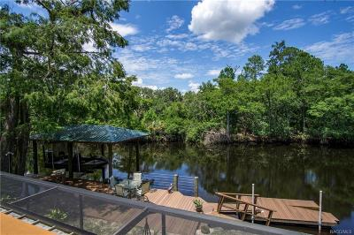 Dunnellon Single Family Home For Sale: 9738 N Auburn Point