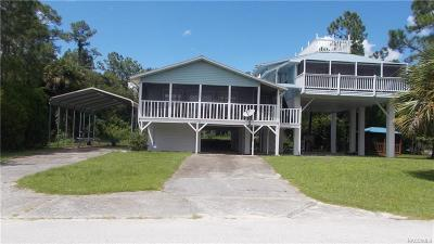 Crystal River Single Family Home For Sale: 11839 W. Waterwood Drive