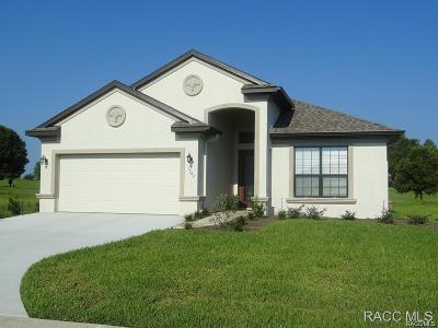 Lecanto Single Family Home For Sale: 1562 W Caroline Path