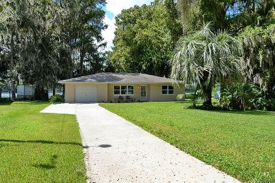 Floral City Single Family Home For Sale: 7616 S Crescent Loop