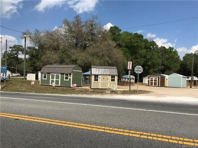 Inverness Commercial For Sale: 4310 E Goodwin Court