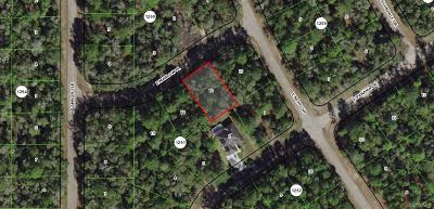 Citrus Springs Residential Lots & Land For Sale: 452 E Marlow Place
