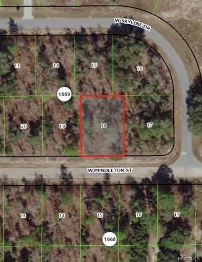 Citrus Springs Residential Lots & Land For Sale: 1443 W Pendleton Street