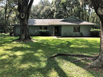 Inverness Single Family Home For Sale: 4080 S Big Al Point