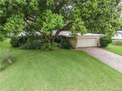 Crystal River Single Family Home For Sale: 2328 N Watersedge Drive