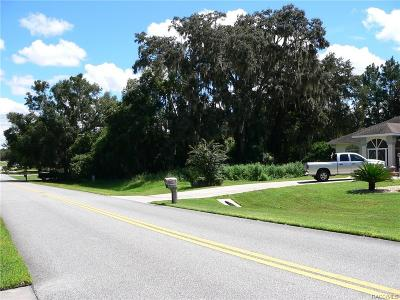 Hernando Residential Lots & Land For Sale: 2834 N Canterbury Lake Drive