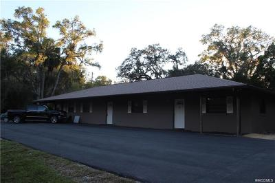 Crystal River Multi Family Home For Sale: 121 NW Crystal Street
