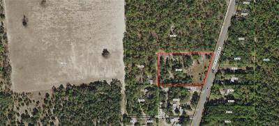 Floral City Residential Lots & Land For Sale: 11360 S Florida Avenue