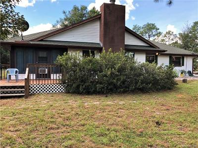 Dunnellon Single Family Home For Sale: 10410 N Parkwood Avenue