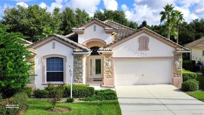 Hernando FL Single Family Home For Sale: $275,000