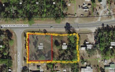 Homosassa Residential Lots & Land For Sale: 6210 W Homosassa Trail